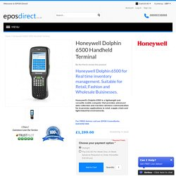 Honeywell Dolphin 6500 Handheld Pos Terminal - Mobile Computers Tablets