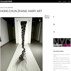 Hong Chun Zhang: Hairy Art