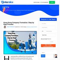 Hong Kong Company Formation: Step by Step Process