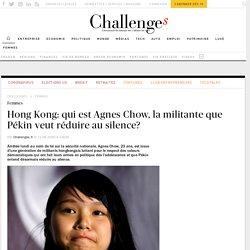 Hong Kong: qui est la militante Agnes Chow?