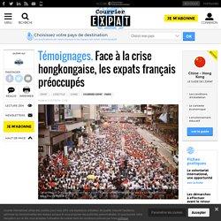 Face à la crise hongkongaise, les expats français préoccupés