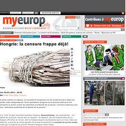 Hongrie: la censure frappe déjà!