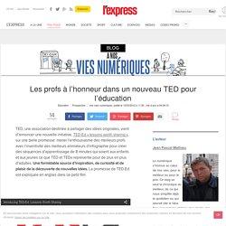Les profs à l'honneur dans un nouveau TED pour l'éducation