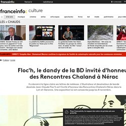 Floc'h, le dandy de la BD invité d'honneur des Rencontres Chaland à Nérac