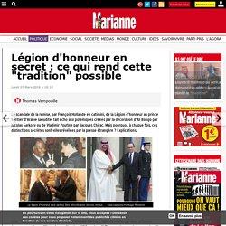 """Légion d'honneur en secret : ce qui rend cette """"tradition"""" possible"""