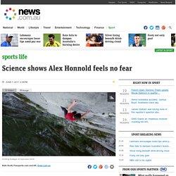 Alex Honnold 'feels no fear' scientists say after brain tests, El Capitan climb