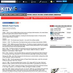 NASA Fast Facts