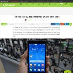 Test du Honor 3C : Huawei s'attaque à l'entrée de gamme