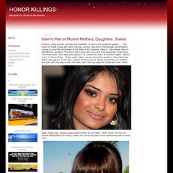 HONOR KILLINGS