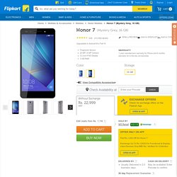 Honor 7 Price in India - Buy Honor 7 Fantasy Silver 16 GB Online - Honor
