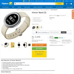 Honor Band Z1 Price in India - Buy Honor Band Z1 online at Flipkart.com