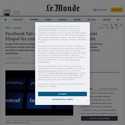 Facebook fait amende honorable après avoir bloqué les contenus d'actualité en Australie