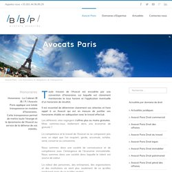 Honoraires, obligation de transparence - Avocat Paris