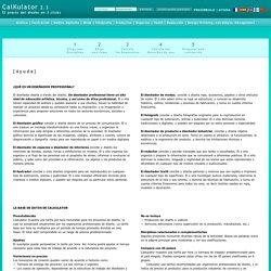 Tarifas de diseño /El precio del diseño en 3 clicks > Calcula los honorarios de creación y los derechos de uso de un proyecto de diseño