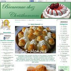 ~~ Saint-Honoré ~~ - Bienvenue chez Christhummm