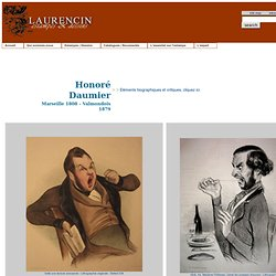 Honoré Daumier, lithographies
