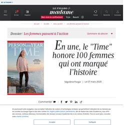 """En une, le """"Time"""" honore 100 femmes qui ont marqué l'histoire - Madame Figaro"""
