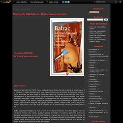 Honoré de BALZAC, Le Chef-d'œuvre inconnu
