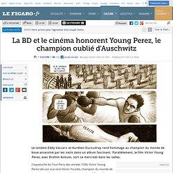 La BD et le cinéma honorent Young Perez, le champion oublié d'Auschwitz