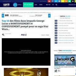 Top 10 des films dans lesquels George Lucas a HONTEUSEMENT et COPIEUSEMENT pompé pour sa saga Star Wars…