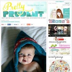 DIY Hooded Baby Towel