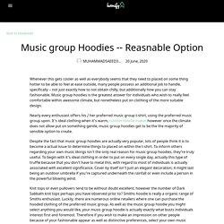 Music group Hoodies