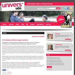 UvT hoofddocent Wicherts reageert op fraude
