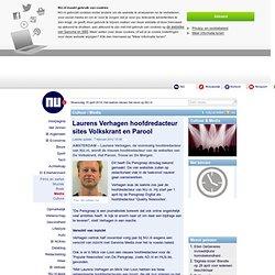 Laurens Verhagen hoofdredacteur sites Volkskrant en Parool