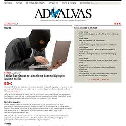 advalvas: Leidse hoogleraar zet anonieme beschuldigingen Kourtit online