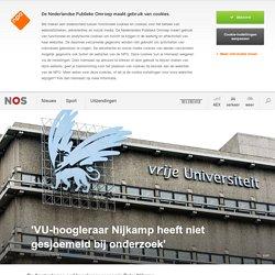 'VU-hoogleraar Nijkamp heeft niet gesjoemeld bij onderzoek'