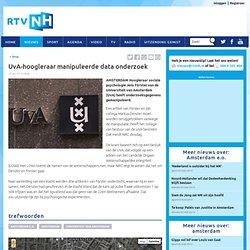 rtvnh: UvA-hoogleraar manipuleerde data onderzoek