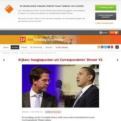Kijken: hoogtepunten uit Correspondents' Dinner VS