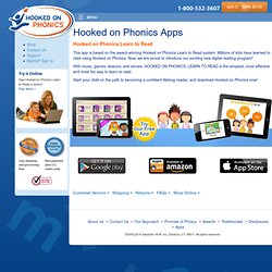 Hooked on Phonics Apps - Hooked on Phonics