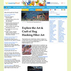Rug-Hooking: History, How-to Tutorials