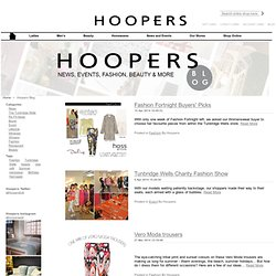 Hoopers | Hoopers Blog | Style and Quality