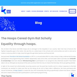 The Hoops Cereal Gym Rat Scholly