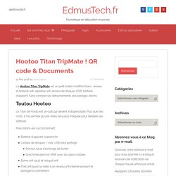 Hootoo Titan TripMate ! QR code & Documents