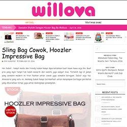 Sling Bag Cowok, Hoozler Impressive Bag