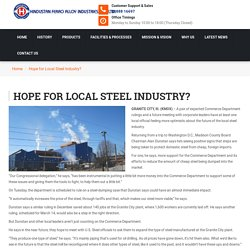 Hope for Local Steel Industry?