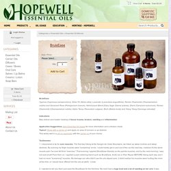 Hopewell Essential Oil - BruisEase Essential Oil