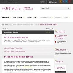 hopital.fr - Le droit à l'accès aux soins pour tous