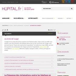 hopital.fr - Les droits de l'usager