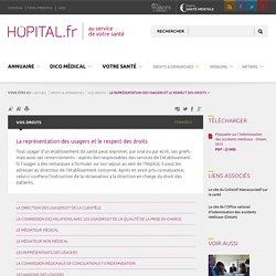 hopital.fr - La représentation des usagers et le respect des droits