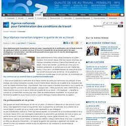 Deux hôpitaux marseillais soignent la qualité de vie au travail