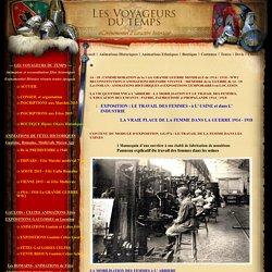 le travail des femmes guerre 1914 dans les hopitaux, les usines, les munitionnettes des obus 14 18