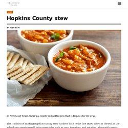 Hopkins County stew