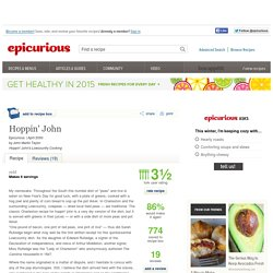 Hoppin' John Recipe