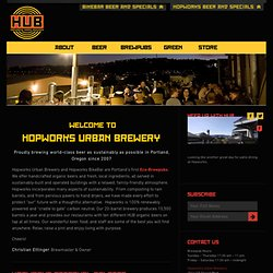 Hopworks Urban Brewery - Home