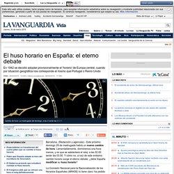 El huso horario en España: el eterno debate