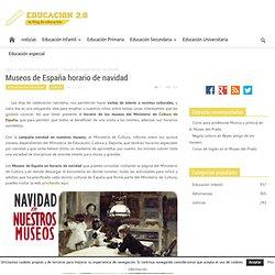 Museos de España horario de navidad